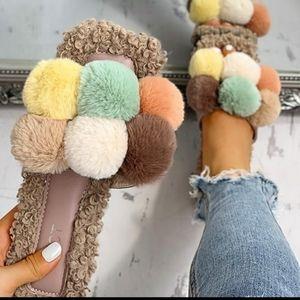 🔥🔥NEW Villus Fluffy Casual Sandals